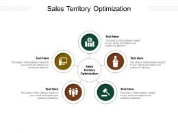 Sales Territory Optimization Ppt Powerpoint Presentation Icon Slideshow Cpb