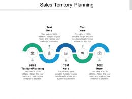 Sales Territory Planning Ppt Powerpoint Presentation File Files Cpb
