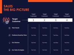 Sales The Big Picture Ppt Powerpoint Presentation Layouts Styles