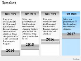 Sales Timeline Roadmap Diagram 0314