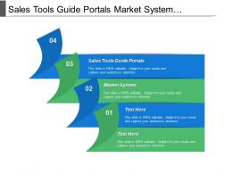 Sales Tools Guide Portals Market System Customer Segmentation