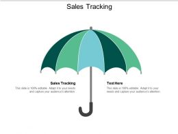 Sales Tracking Ppt Powerpoint Presentation Styles Brochure Cpb