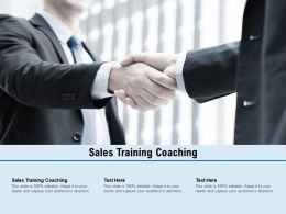 Sales Training Coaching Ppt Powerpoint Presentation Professional Templates Cpb