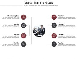 Sales Training Goals Ppt Powerpoint Presentation Slides Pictures Cpb