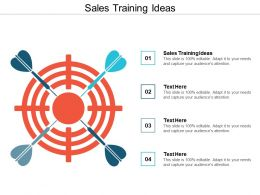 Sales Training Ideas Ppt Powerpoint Presentation Gallery Slides Cpb