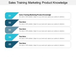 Sales Training Marketing Product Knowledge Ppt Powerpoint Presentation Model Tips Cpb