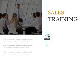 Sales Training Presentation Ideas