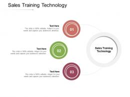 Sales Training Technology Ppt Powerpoint Presentation Summary Guide Cpb