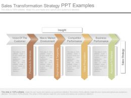 Sales Transformation Strategy Ppt Examples