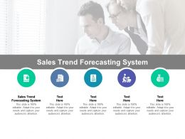 Sales Trend Forecasting System Ppt Powerpoint Presentation Infographics Guidelines Cpb