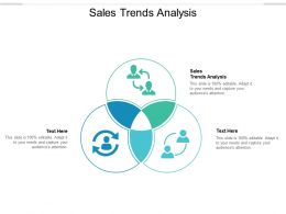 Sales Trends Analysis Ppt Powerpoint Presentation Show Infographic Template Cpb
