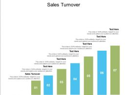 Sales Turnover Ppt Powerpoint Presentation Infographics Slideshow Cpb