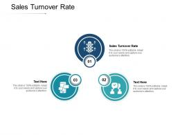 Sales Turnover Rate Ppt Powerpoint Presentation Infographics Graphics Example Cpb