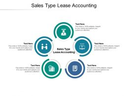 Sales Type Lease Accounting Ppt Powerpoint Presentation Infographics Topics Cpb