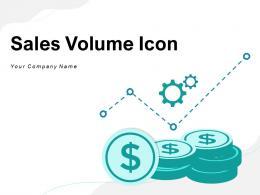 Sales Volume Icon Analytics Enterprise Incremental Product Statistics Growth