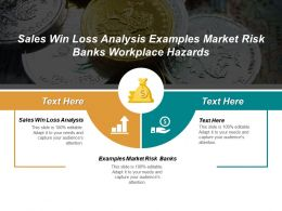 Sales Win Loss Analysis Examples Market Risk Banks Workplace Hazards Cpb