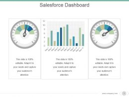 Salesforce Dashboard Powerpoint Slide Presentation Tips