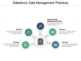 Salesforce Data Management Practices Ppt Powerpoint Presentation Ideas Graphic Tips Cpb