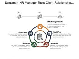 Salesman Hr Manager Tools Client Relationship Management Motivation Methods