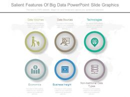 Salient Features Of Big Data Powerpoint Slide Graphics