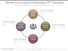 Sample Accounting And Marketing Ppt Templates