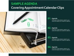 Sample Agenda Covering Appointment Calendar Clips