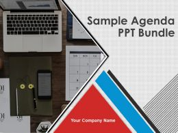 Sample Agenda Ppt Bundle Powerpoint Presentation Slides
