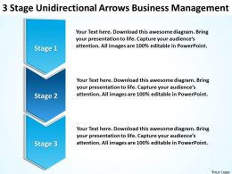 sample_business_model_diagram_stage_unidirectional_arrows_management_powerpoint_templates_Slide01