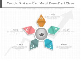 Sample Business Plan Model Power Point Show