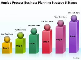 Sample Business Powerpoint Presentation Planning Strategy 6 Stages Templates
