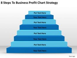Sample Business Powerpoint Presentation To Profit Chart Strategy Templates