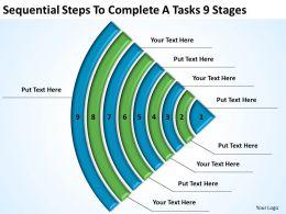 sample_business_process_diagram_tasks_9_stages_powerpoint_templates_ppt_backgrounds_for_slides_Slide01