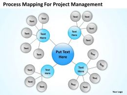 Sample Business Process Flow Diagram Management Powerpoint Templates PPT Backgrounds For Slides