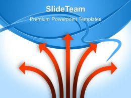 Sample Business Process Flow Presentation Arrows Background Chart Ppt Slides Powerpoint