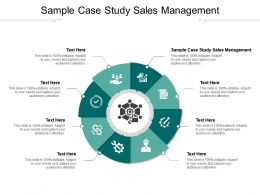 Sample Case Study Sales Management Ppt Powerpoint Presentation Summary Elements Cpb