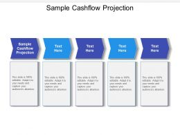 Sample Cashflow Projection Ppt Powerpoint Presentation Professional Cpb