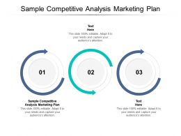 Sample Competitive Analysis Marketing Plan Ppt Powerpoint Presentation Summary Cpb