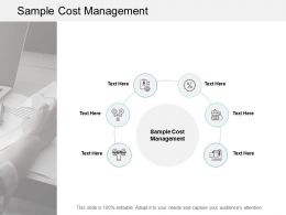 Sample Cost Management Ppt Powerpoint Presentation Summary Shapes Cpb