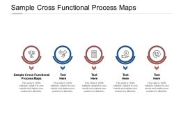 Sample Cross Functional Process Maps Ppt Powerpoint Presentation Model Structure Cpb