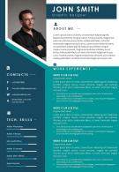 Sample Curriculum Vitae Template With Career Achievements