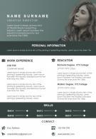 Sample CV Format Of Creative Director