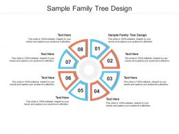 Sample Family Tree Design Ppt Powerpoint Presentation Layouts Gallery Cpb