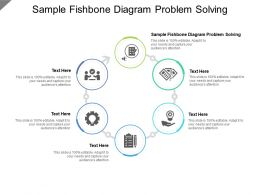 Sample Fishbone Diagram Problem Solving Ppt Powerpoint Presentation Icon Cpb