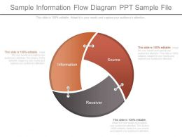 Sample Information Flow Diagram Ppt Sample File