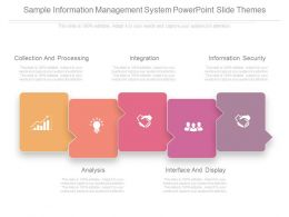 Sample Information Management System Powerpoint Slide Themes