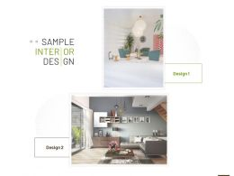 Sample Interior Design Ppt Powerpoint Presentation Icon Images