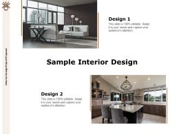 Sample Interior Design Ppt Powerpoint Presentation Slides Clipart Images