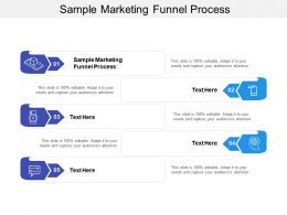 Sample Marketing Funnel Process Ppt Powerpoint Presentation Ideas Guide Cpb