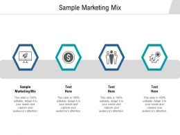Sample Marketing Mix Ppt Powerpoint Presentation Slides Background Designs Cpb