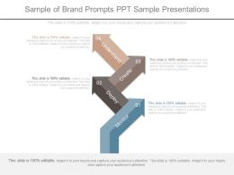 Sample Of Brand Prompts Ppt Sample Presentations